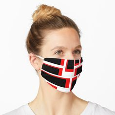 """""""Black Red Shape"""" Mask by Type-Design 