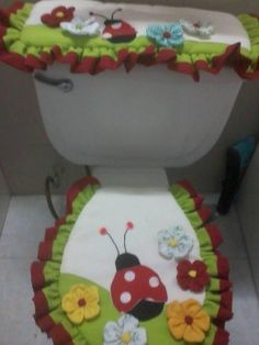 Bathroom Crafts, Bathroom Sets, Diy And Crafts, Arts And Crafts, Diy Y Manualidades, Toilet Design, Dress Sewing Patterns, Paper Quilling, Project Yourself