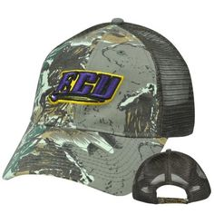 NCAA ECU East Carolina Pirates Camouflage Camo Mesh Hat Cap Adjustable Velcro by Fan Favorite. $19.95. Brand New Item with Tags. Adjustable. Velcro. 57% Polyester 43% Cotton. Official Licensed Product. 3D high definition (raised) team logo embroidered on front panel. Camo front and bill. Mesh on side and back panels. Team name embroidered on closure. Velcro closure. Authentic Fan Favorite merchandise. Officially Licensed Collegiate Product.. Save 20% Off!