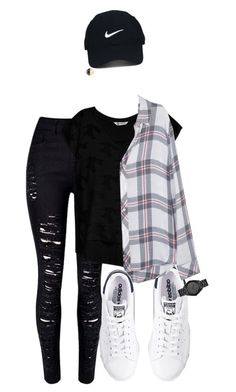 """""""Untitled #1626"""" by musicfasionbooks on Polyvore featuring adidas, WithChic, Nike Golf, Chanel, Bobeau, Rails and Michael Kors"""