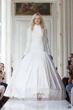 """""""Delphine Manivet 2013"""" YAY I can get married in winter if I want now! I was just waiting for the turtleneck dress!*"""