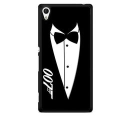 James Bond 007 Black And White Party Invitations Tie TATUM-5780 Sony Phonecase Cover For Xperia Z1, Xperia Z2, Xperia Z3, Xperia Z4, Xperia Z5