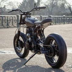 Tracker Motorcycle, Scooter Motorcycle, Scrambler Motorcycle, Moto Bike, Motorcycle Design, Bike Design, Xt 600 Scrambler, Dominator Scrambler, Yamaha Tw200