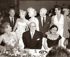 Vintage Rachel: You Read It In Winchell...  Have you ever seen a photo of Lucille Ball and Marilyn Monroe together?!