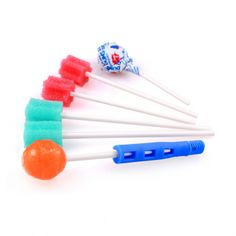 The Popette Tip - an adapter to let you use lollipops, toothettes, and dentaswabs with the Z-Vibe for oral awareness, lip strength, and other sensory oral motor activities.   Visit www.arktherapeutic.com/post/1266 for specific exercise ideas.