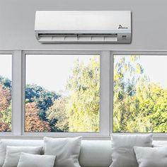 GMC Mid Wall Home Air Conditioner R410a - 24000BTU Windows, Aircon, Heat Pump, House Design, Wall Mount, Air Conditioner, Home, Wall