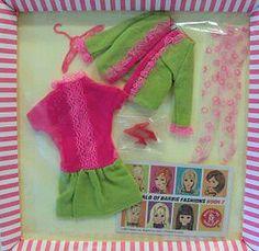 """Vintage Barbie """"Fancy Dancy"""" #1858 1968-1969"""