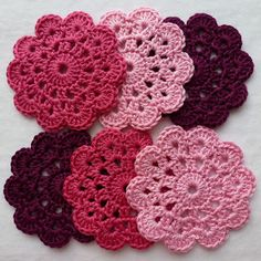 Karin on the hook: Coaster 1893 - Pattern here http://crochet.about.com/od/vintage/ss/aa052606.htm