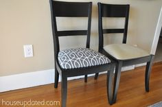 dining chair recovering