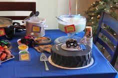 Monster jam birthday party