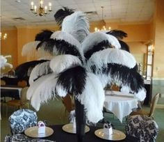Wholesale! 10-500Pcs Naturally Ostrich Feathers12-14 Inches/30-35CmWedding
