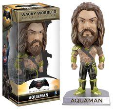 Funko Wacky Wobbler: Batman vs Superman - Aquaman Action Figure
