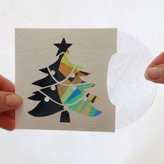 Carte magique et animée pour enfants motif sapin de Noël à   Etsy
