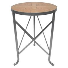 Threshold Metal Accent Table $30