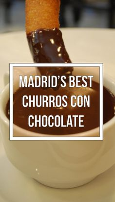 We went to all of Madrid's famous churros con chocolate shops to find the very best.