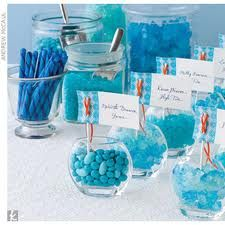 love the candy party idea