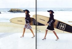 Chanel ad campaign, SS 2013