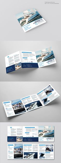 Brochure Design for Passage Nautical Enterprises | 99designs