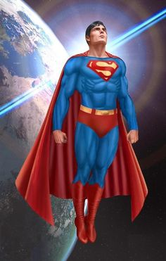 Christopher Reeve Superman.