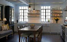 South Shore Decorating Blog: Stylish and Unique Kitchens and Eating Areas