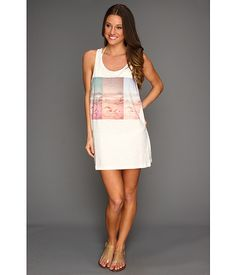 WANT! MINKPINK Savannah Low Side Tank Dress (cover-up)