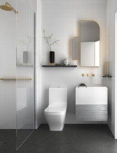 Minimalist bathroom ideas gray bathroom with modern white tiles minimalist small bathroom design ideas . Minimalist Bathroom Design, Diy Bathroom Decor, Bathroom Layout, Modern Bathroom Design, Bathroom Interior Design, Bathroom Designs, Bathroom Ideas, Modern Minimalist, Restroom Ideas