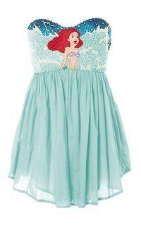 The Little Mermaid dress!