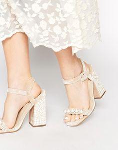 Image 1 ofASOS HEARTWARMING Heeled Sandals