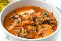 Creole Fish Stew Recipe by Whole Foods Market - The Daily Meal Seafood Jambalaya, Seafood Stew, Seafood Recipes, Mexican Food Recipes, Cooking Recipes, Healthy Recipes, Fish Recipes, Fish Soup, Baked Cod