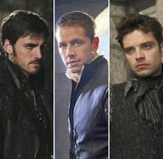 once upon a time guys | The Hot Guys of Once Upon a Time: Hook, Charming, and Jefferson
