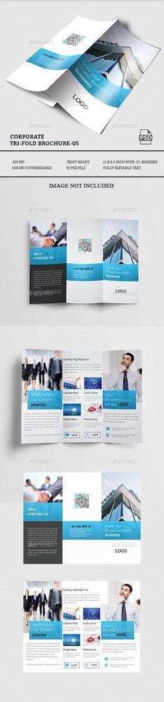 Creative TriFold Brochure  Tri Fold Brochure Tri Fold And