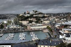 Looking down on Torquay Harbour and Big Wheel - Torbay