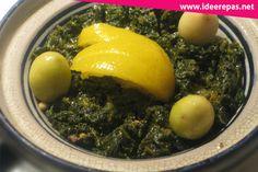 Je vous propose une recette très délicieuse Bakoula ou khobiza est une fameuse salade marocaine présentée comme entrée chaude préparée à la base de mauvevous pouvez remplacer la mauve par les épinards c'est très délicieux vous devez l'essayer. Recette Bakkoula Les ingrédients de Bakkoula 1 bouquet de mauve 2 tomates hachées 1 cuillère de tomate concentrée 2 gousses d'ail 3 cuillères d'huile d'olive poivreselpaprikacumin jus d'un citron piment rouge olives vertes tranches de citron Méthode…