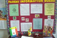 im so doing this for my daycare parent board