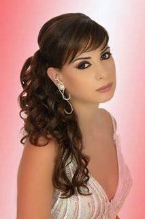 1000 images about peinados semirecogidos on pinterest - Peinados de fiesta cabello largo ...