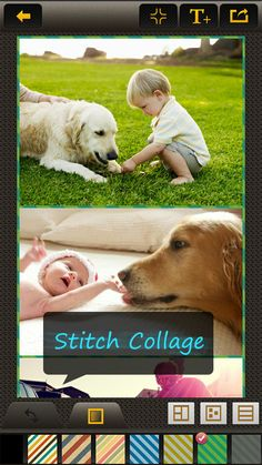Stitch collage photos on Android