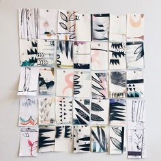 """""""Detail of the ones I didn't use"""" illustrator, eva magill-oliver."""