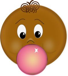 Free Vector Graphic: Bubblegum, Face, Blow, Boy, Brown - Free Image on Pixabay - 154057