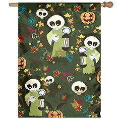 $9.99 * Learn more by visiting the image link. (This is an affiliate link) #HalloweenOutdoorFlagsBanners