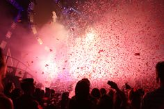Confetti falls at the 2014 iHeartRadio Music Festival! #iHeartRadio