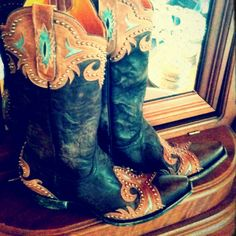 Old Gringo Taka Brown Cowgirl Boots at RiverTrail in North Carolina.