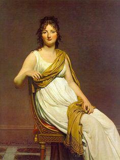 Madame de Verniac - Revolutions- und Empiremode – Wikipedia