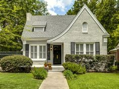 Terrific Tudor Style Homes in Dallas   An absolutely darling little Tudor cottage at 5907 Vanderbilt Avenue in Lakewood.