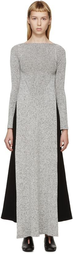 Stella McCartney - Grey Long Side Slit Sweater