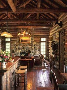So You Have Always Wanted To Build A Rustic Dream Home, Perhaps Out In The  Wilderness Somewhere, Or You Just Want A Simple Home To Complement Your  Simple ...