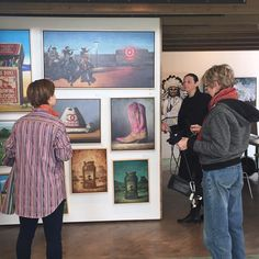 We have an extensive collection of works from over 40 represented artists. Come visit us today to view all the pieces in person! We're open from 11-6p.m. #art #artoftheday #contemporaryart  http://ift.tt/1DLiHI4