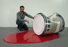 Macro: Oversized Sculptures by Rómulo Celdrán | Inspiration Grid | Design Inspiration