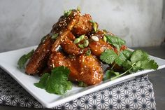 Sticky Asian Chicken Wings by Heather Christo, via Flickr