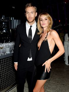 Calvin Harris and Rosie Huntington-Whiteley looked pretty freaking good at the Elle Style Awards 2015 in London Feb. 24.