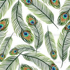 depositphotos_20202797-stock-illustration-seamless-texture-with-peacock-feathers.jpg (1024×1024)